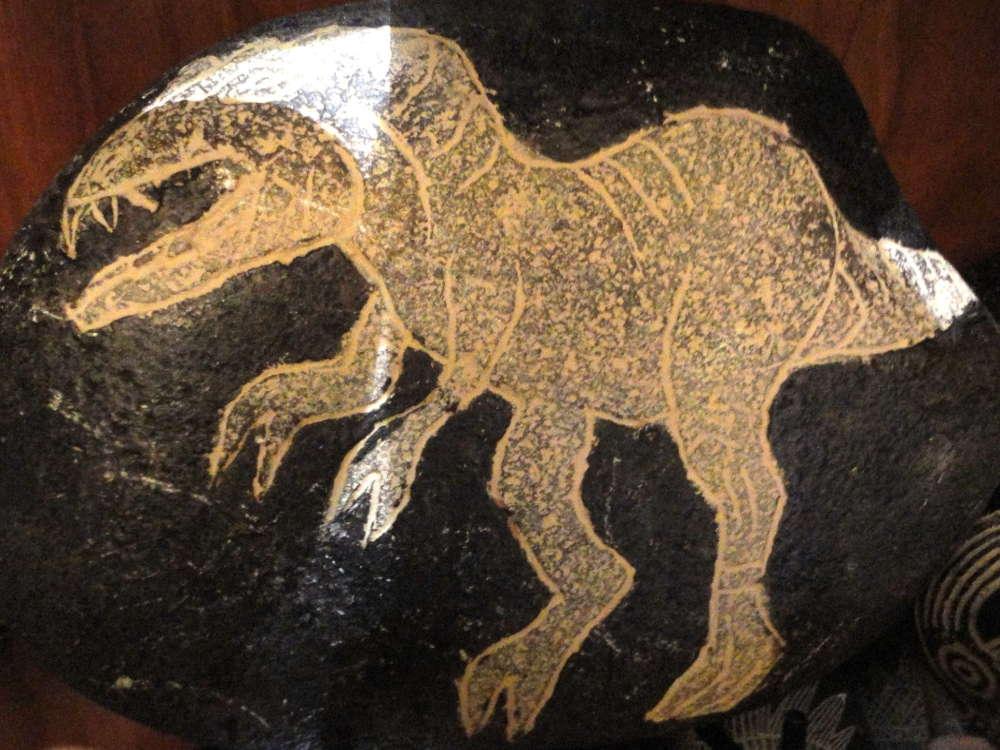 Peru - Pietre di Ica - T rex
