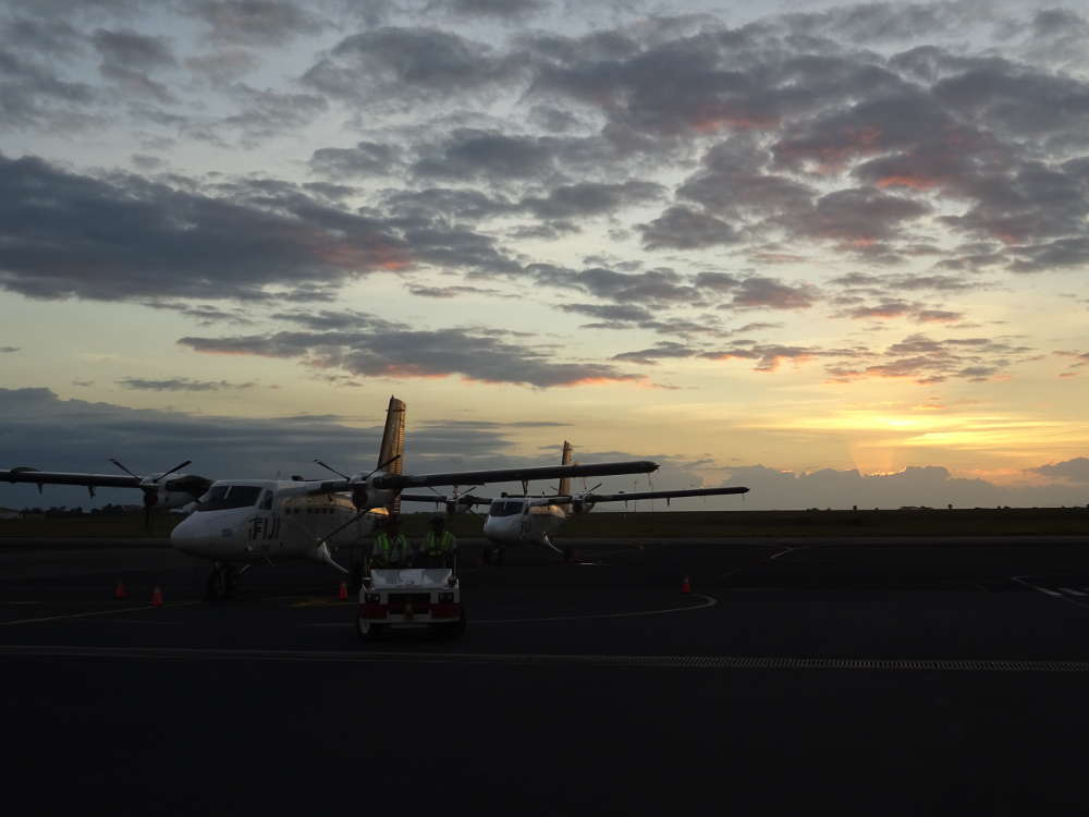 Isole Fiji - Aeroporto Nadi