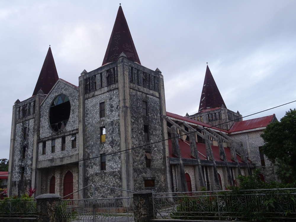 Tonga - Nuku'alofa - Chiesa metodista Centennial Church