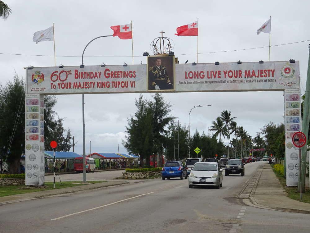 Tonga - Nuku'alofa - Vuna Road
