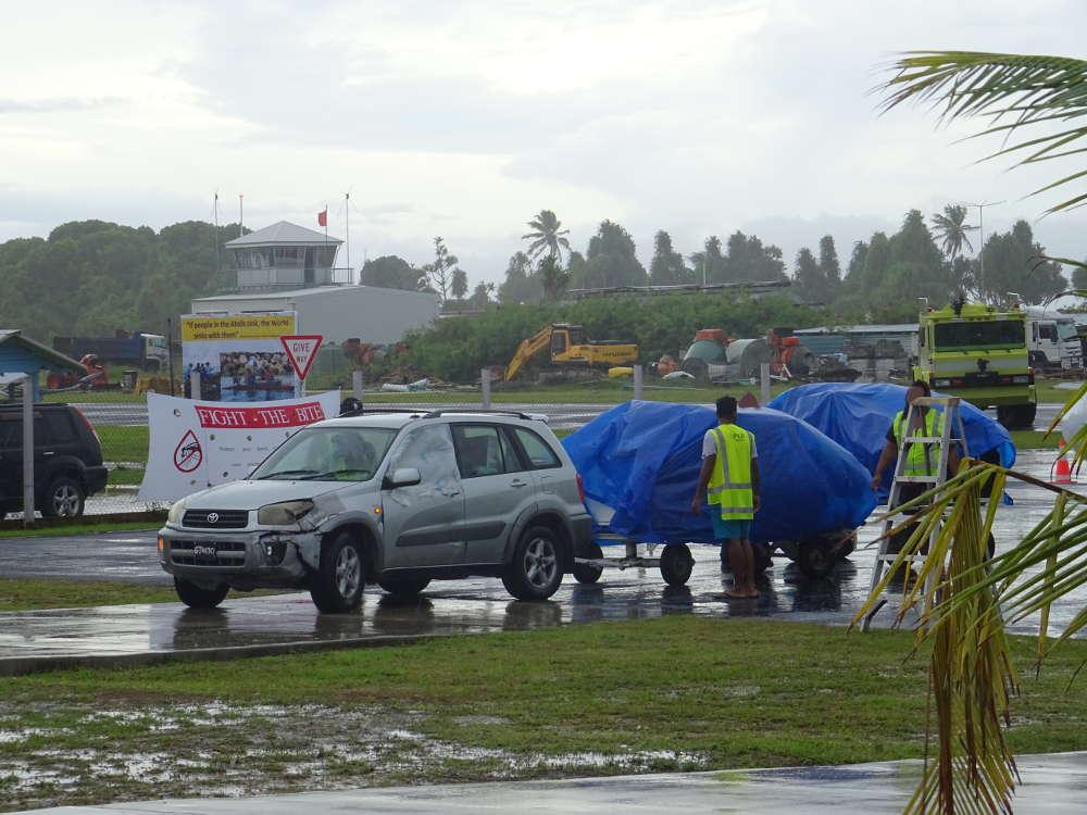 Tuvalu - Funafuti Airport FUN - consegna bagagli