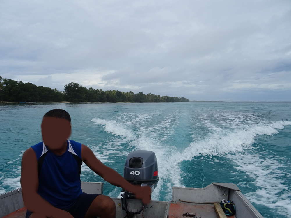 Tuvalu - direzione Afelita's Island