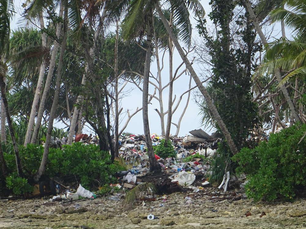 Tuvalu - discarica