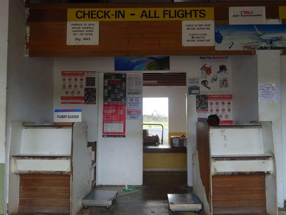 Vanuatu - Tanna Island - Airport